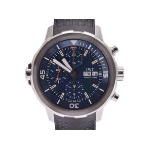 Used Iwc Aqua Timer Chrono Custody Diver Iw 376805 Ss / Rubber Blue Dial Expedition · Jack = Eve Costume Inside Box Galleries Automatic Men's Watch ◇