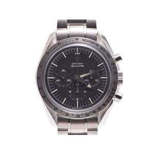 Second Hand Omega Speedmaster First Replica 3594.50 Ss Black Letter Board Winding Gala Men's Watch ◇
