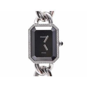 中古 シャネル プルミエール ベゼルダイヤ SS H3252 クオーツ 腕時計 レディース CHANEL◇