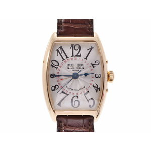 Used Franck Muller Master Calendar Yg / Leather 2852 Mc Automatic Watch Wrist Men's ◇