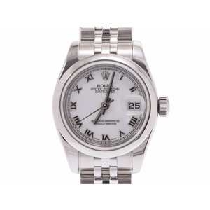 Used Rolex Datejust 179160 M Number Ss White Dial Board Galler Automatic Winding Wristwatch Women's ◇
