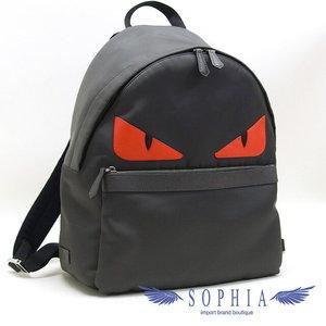 Fendi Bags Monster Backpack Luc Gray 20180808