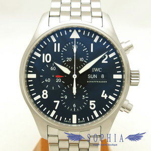Iwc Pilot Watch Chronograph Iw377710 20180704