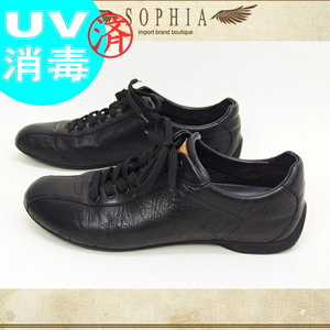 Louis Vuitton Mahina Leather Sneaker Black Size 36 20161019