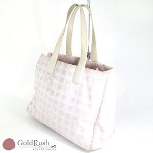 Chanel New Travel Line Tote Bag Pink