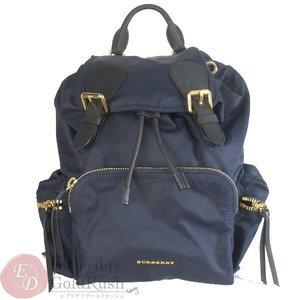 Burberry London Backpack Nylon Navy Men's Ladies Extreme Goods