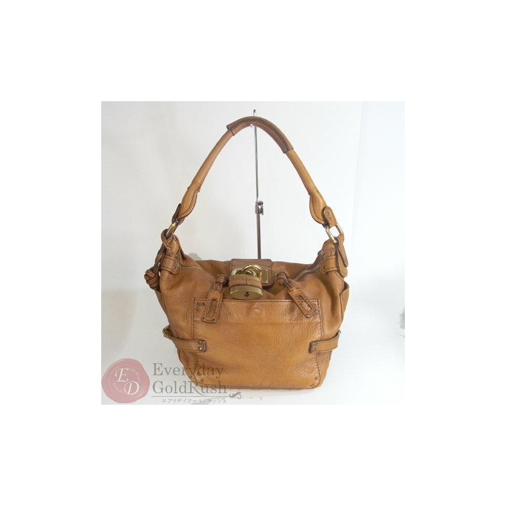 Chloé Chloe Paddington 01-06-53 Brown Type One Handle Bag Women s Leather aea30d08d