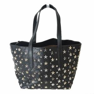 Jimmy Choo Sophia S Tote Bag Black Ladies