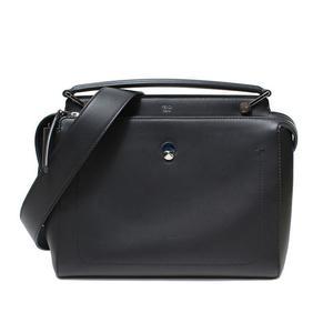 Fendi Dot Com 2 Way Shoulder Bag 8 Bn 293 Black Ladies