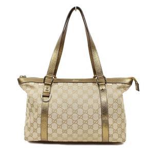 578c53a8dbb7 Gucci Gg Canvas Tote Bag 141470 Beige × Gold Ladies