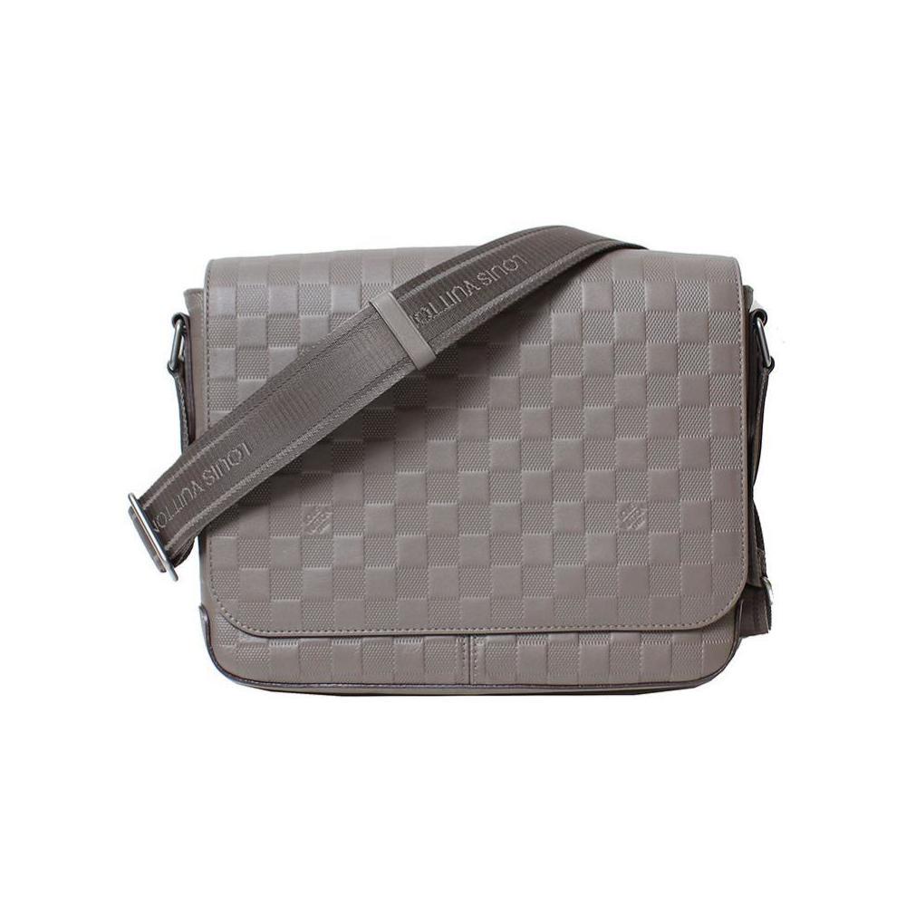 a5655061 Louis Vuitton Damier · Anfini District Pm N41485 Grani Shoulder Bag Men's  Louisvuitton   elady.com