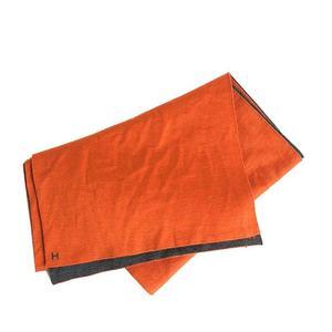 Hermes Are Ru Tou Cashimer 70% Circle 30% Orange × Grease Muffler Women's Men's