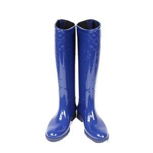 Louis Vuitton Lv Monogram Drops · Line Flat High Boots Blue