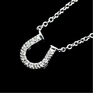 c829da0da Tiffany & Co Metro Horseshoe Pendant K18wg Diamond Ladies Necklace Jewelry  Finished