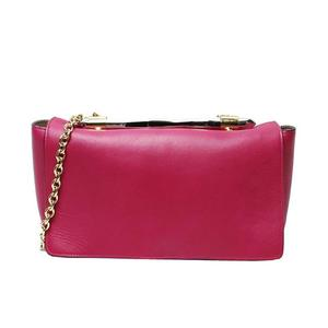 Jimmy Choo 2 Way Shoulder Bag 1540 Nix.npe Raspberry Pink