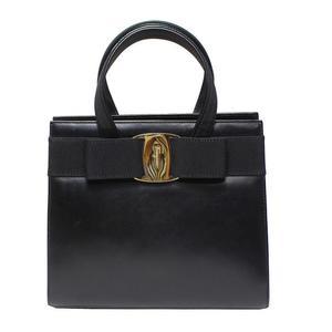 Salvatore Ferragamo Vala Handbag Black Women's