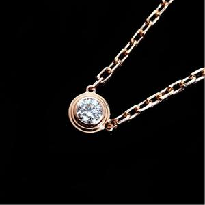 4b40a137a Cartier Diaman Lege Necklace Sm B 7215700 K18pg Diamond Ladies Pendant  Jewelry Finished