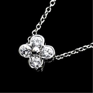 8d1dd1a37 Tiffany & Co Lace Necklace Platinum Diamond Ladies Pendant Jewelry Finished