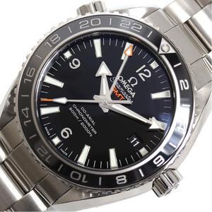 Omega Seamaster Planet Ocean Gmt 232.30.44.22.01.001 Automatic Men's Black Mens Wrist Watch