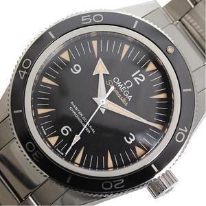 Omega Seamaster 300 Master Co-axial 233.30.41.21.01.001 Automatic Black Men's Watch Finished