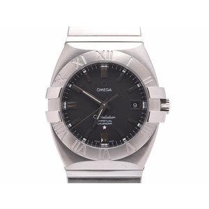 中古 オメガ コンステレーション ダブルイーグル1513.51 SS 黒文字盤 クオーツ ギャラ メンズ 腕時計 OMEGA◇
