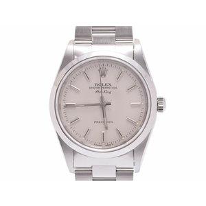 中古 ロレックス エアキング 14000 U番 SS シルバー文字盤 ギャラ 腕時計 メンズ レディース ROLEX◇