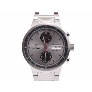 Used Iwc Gst Chrono Iwcforprada Ss Automatic Volume Wristwatch Limited To 2000 ◇