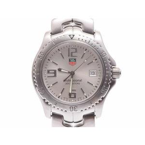 中古 タグホイヤー リンク WT1112.BA0550 SS シルバー文字盤 クオーツ 腕時計 メンズ TAG Heuer◇