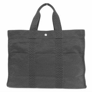 Hermes Ale Line Gm Tote Bag Gray