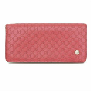 1f0623ac989d Gucci Micro Sima Leather Folded Long Purse Red 256930