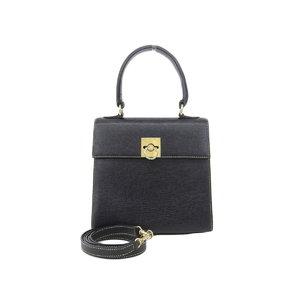 3672004aeb Celine Vintage 2 Way Handbag Shoulder Black
