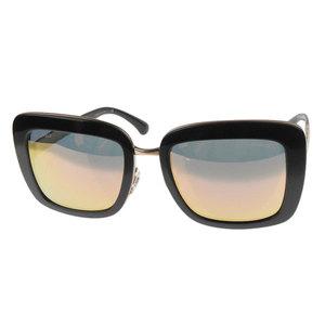 Chanel Chanel Square Sunglasses Black X Gold 53 □ 21 135 5369