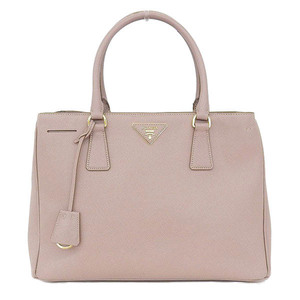 Prada Prada Saferian Leather Galleria 2way Handbag Pink Beige Gold Hardware Bn1874 Bag