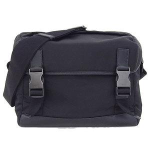Prada Prada Nylon Shoulder Bag Black Va 1063