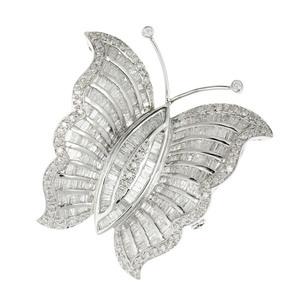 K18 Diamond 3.00ct Butterfly Brooch