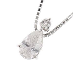 Platinum Pt 900/850 Diamond 1.025 Cc Pendant 5.2 G