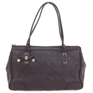 Gucci Gucci Brin Sea Tote Brown 177052 Bag