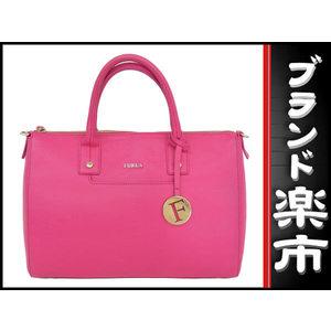 Furla Furla Leather 2 Way Tote Bag Pink