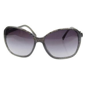 Chanel Chanel Coco Mark Ribbon Sunglasses Black 58 □ 16 5205