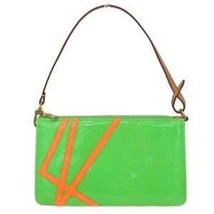 Louis Vuitton Louis Vernis Lexington Accessory Pouch Green M91907