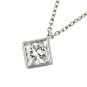 Platinum Pt 900 850 Diamond 1.008ct Necklace