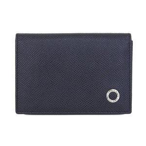 Bvlgari Bvlgari Leather Card Case Black