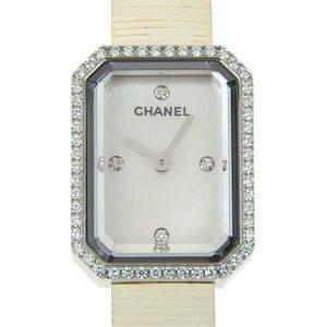 Chanel Chanel Premier Diamond Bezel Ladies Quartz Watch Shell Dial H2433 Wrist