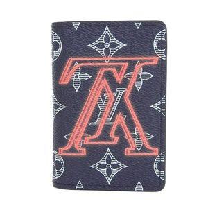 Louis Vuitton Louis Monogram Upside Down Card Case M62889