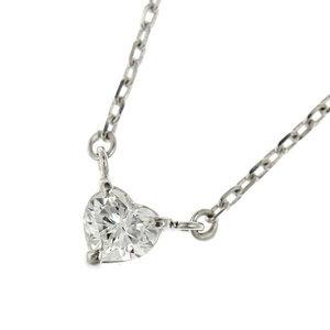 Platinum Pt 850 Diamond 0.18ct Necklace
