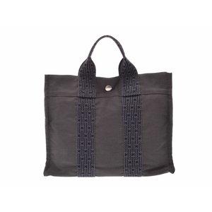 Used Hermès Ale Line Pm Gray Tote Bag Men's Ladies Hermes ◇