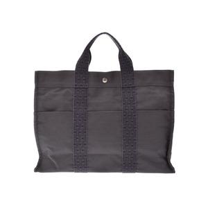 Used Hermes Ale Line Mm Gray Tote Bag ◇