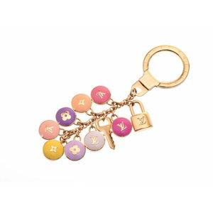 Used Louis Vuitton Portukle Pastille Key Ring Multi Color M65646 ◇