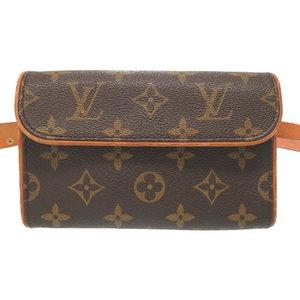 Louis Vuitton Monogram Pochette Florentine M51855 Waist Bag Lv 0130