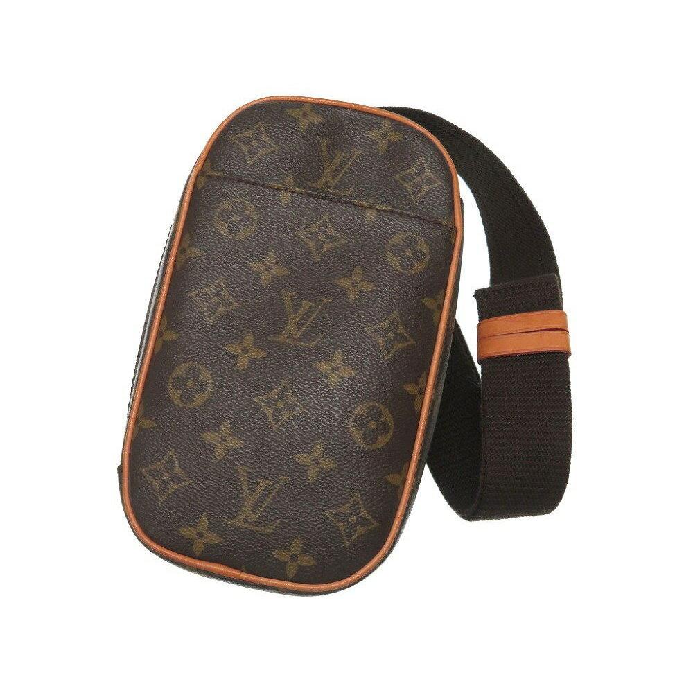 30e8a5a9eb15 Louis Vuitton Monogram Pochette Ganju M51870 Body Bag Mens Shoulder 0004